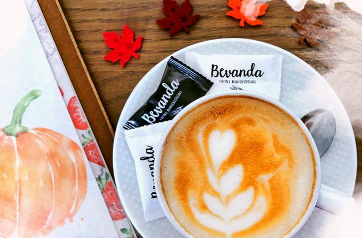 Kafa u restoranu Bevanda Tivat